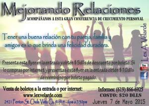 Mejorando Relaciones by Lex A. Velarde